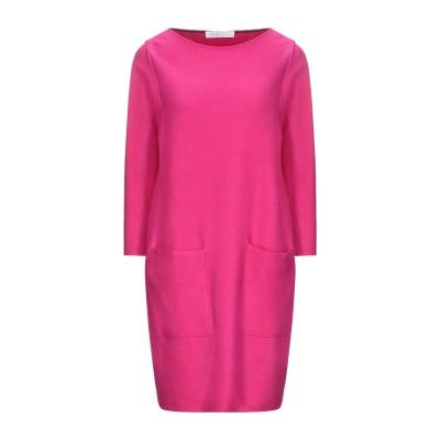 ハリス・ワーフ・ロンドン HARRIS WHARF LONDON ミニワンピース&ドレス フューシャ 42 バージンウール 100% ミニワンピース