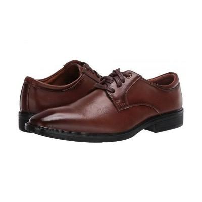 Deer Stags デアスタッグズ メンズ 男性用 シューズ 靴 オックスフォード 紳士靴 通勤靴 Trace - Dark Cognac