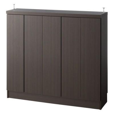 家具 収納 キッチン収納 食器棚 カウンター下収納 シンプルカウンター下収納庫(奥行30高さ97cm) 4枚扉タイプ 幅97.5cm 560319