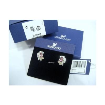 イヤリング スワロフスキー Swarovski Formidable Pierced Earrings, Crystal Authentic MIB 5226037