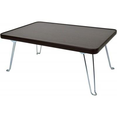 ミツワ ミニテーブル ブラウン TF-7BR 折りたたみテーブル