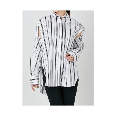 EMODA 2WAYビッグシャツ ライトミックス