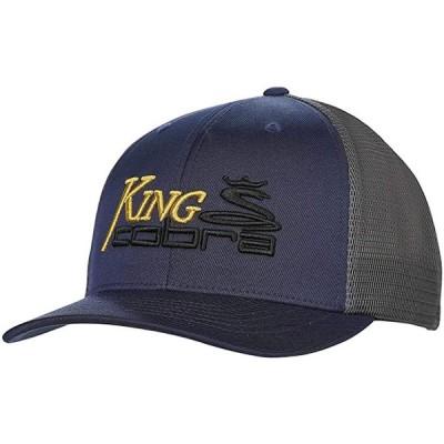 コブラ Golf 2019 キング Trucker Snapback ハット (Dark Denim), One サイズ (9093(海外取寄せ品)