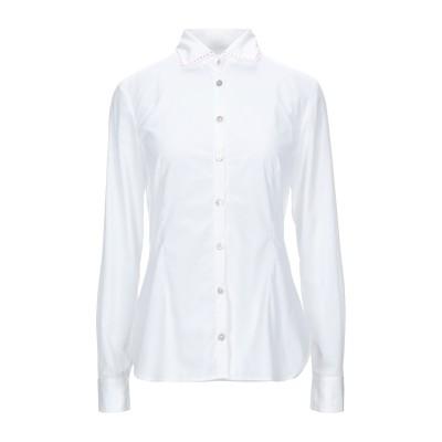 BARBA Napoli シャツ ホワイト 42 コットン 100% シャツ