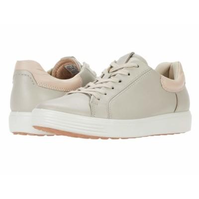 エコー スニーカー シューズ レディース Soft 7 Street Sneaker Gravel/Rose Dust