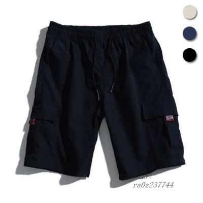 ハーフパンツ メンズ ショートパンツ ゆったり サマーパンツ 半ズボン 夏 ワイドパンツ 5分丈パンツ ショーパン カジュアルパンツ 短パン
