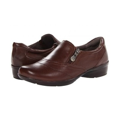 Naturalizer ナチュラライザー レディース 女性用 シューズ 靴 フラット Clarissa - Coffee Bean Leather