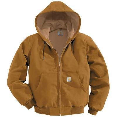 (取寄)カーハート メンズ サーマル ライン ダック アクティブ ジャケット Carhartt Men's Thermal Lined Duck Active Jacket Carhartt Brown