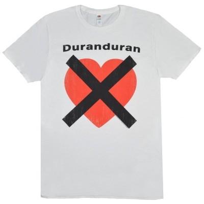 DURAN DURAN Heart X Tシャツ