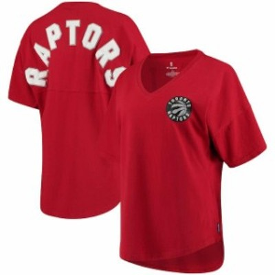 Fanatics Branded ファナティクス ブランド スポーツ用品  Fanatics Branded Toronto Raptors Womens Red Baseline Spi
