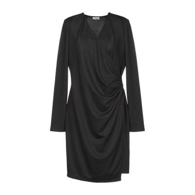 リュー ジョー LIU •JO ミニワンピース&ドレス ブラック 44 ポリエステル 95% / ポリウレタン 5% ミニワンピース&ドレス