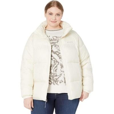 コロンビア Columbia レディース ダウン・中綿ジャケット 大きいサイズ アウター Plus Size Puffect Jacket Chalk