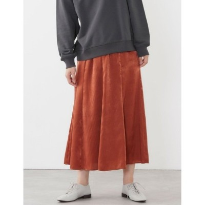 スカート セミフレアスカート