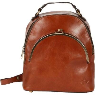 パトリシア ナッシュ Patricia Nash レディース バックパック・リュック バッグ Heritage Montioni Convertible Backpack Tan/FB Scarf