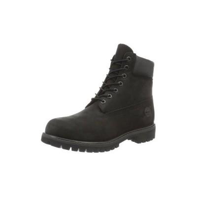 ブーツ ティンバーランド Timberland C10073-10-2E Men's Black Leather Boots, 10-2E US Size