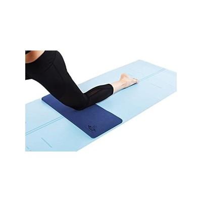 特別価格 Heathyoga ヨガ用膝パッド ヨガや床でのエクササイズ中に膝と肘に最適 ガーデニング、庭作業、ベビーバス用の膝当てパッド 26インチ x 10イ