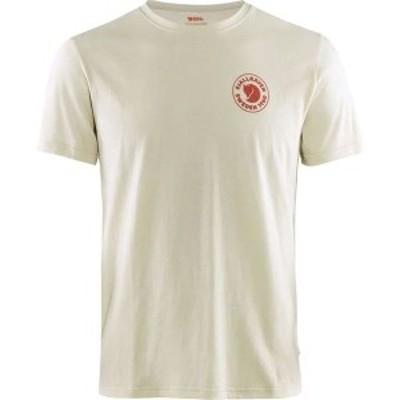 フェールラーベン メンズ Tシャツ トップス 1960 Logo T-Shirt Chalk White