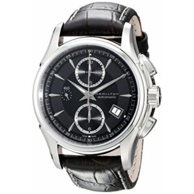 腕時計 ハミルトン メンズ Hamilton Men's H32616533 Jazzmaster Black Dial Watch