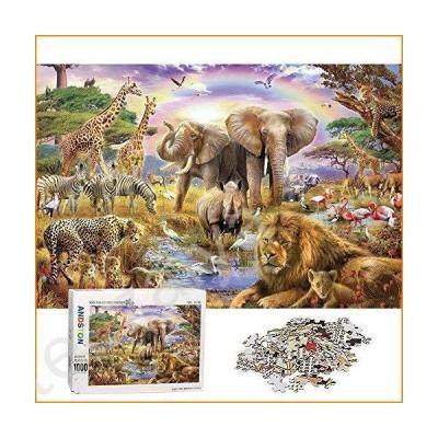 ジグソーパズル ANDSTON Jigsaw Puzzles for Adults 1000 Piece Puzzle for Adults 1000 Piece - Animal World - 1000 Piece Puzzle Large Woo