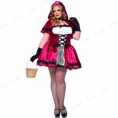 コスプレ 仮装 ゴシック赤ずきん 1X-2X コスプレ 衣装 ハロウィン 仮装 コスチューム 大人 女性 大きいサイズ レディース 赤ずきん 大人