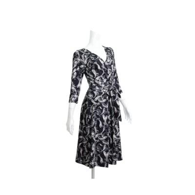 MARTHA(マーサ)ペイズリーカシュクールジャージーワンピース (ワンピース)Dress