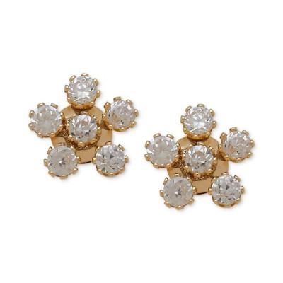 メイシーズ Macy's レディース イヤリング・ピアス ジュエリー・アクセサリー Children's Cubic Zirconia Flower Stud Earrings in 14k Gold No Color