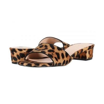 J.Crew レディース 女性用 シューズ 靴 ヒール Flora Slide in Leopard - Rich Mahogany