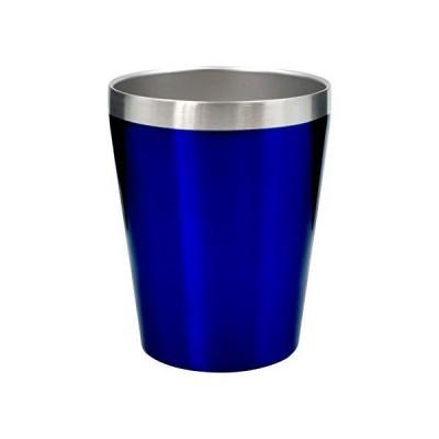 真空断熱 ステンレスタンブラー 360ml 保温 保冷 二重構造 コンビニコーヒーカップ マグ ブルー