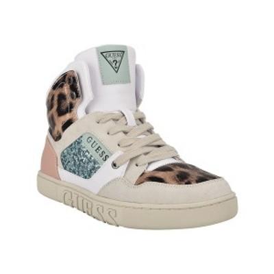 ゲス レディース スニーカー シューズ Women's Justis Sneakers Cheetah, Multi Faux Leather