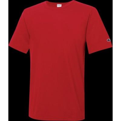 チャンピオン Champion メンズ Tシャツ トップス essential t-shirt Red