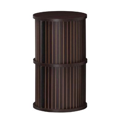 白井産業 円柱ラック/CMO-6035JDK ダークブラウン