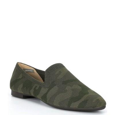 アントニオメラニー レディース サンダル シューズ Beki-A Washable Camo Print Knit Flat Loafers Moss/Army