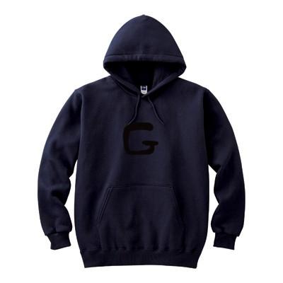 G(8.4オンス フーデッドライトパーカー)(カラー : ディープネイビー, サイズ : S)