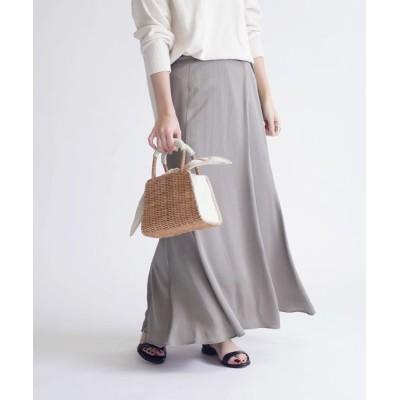 スカート マーメイドロングスカート