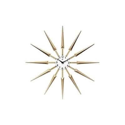 Celeste ユニーク クール ミッドセンチュリー モダンデザイン 壁掛け時計 24インチ