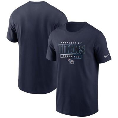 テネシー・タイタンズ Nike Team Property Of Essential T-シャツ - Navy