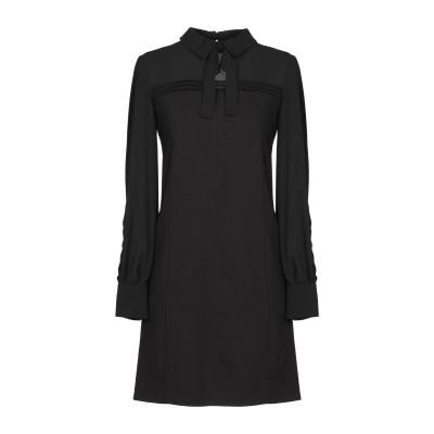 PASSEPARTOUT DRESS by ELISABETTA FRANCHI CELYN b. ミニワンピース&ドレス ブラック 38 ポリエス