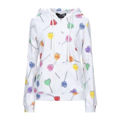 ラブ モスキーノ LOVE MOSCHINO スウェットシャツ ホワイト 40 コットン 100% / ポリウレタン スウェットシャツ