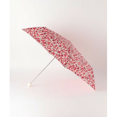 THE STATION STORE UNITED ARROWS LTD./ザ ステーション ストア ユナイテッドアローズ <Wpc.(ダブリュピーシー)>ワントーンフローラル 折りたたみ傘 RED FREE