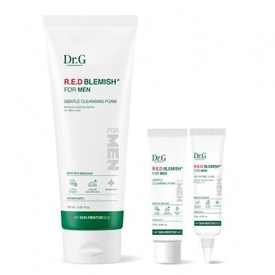 [Dr.G] レッドブレミッシュフォーメンジェントルクレンジングフォーム / Red Blemish For Men Gentle Cleansing Foam 150ml [bystyle]