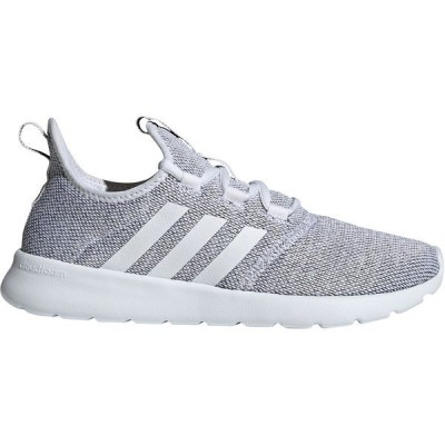 アディダス スニーカー シューズ レディース adidas Women's Cloudfoam Pure 2.0 Running Shoes White/Black