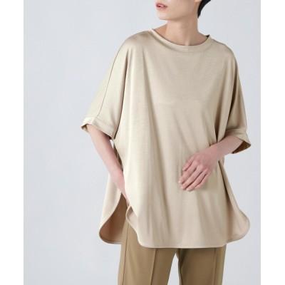 tシャツ Tシャツ (B.B)バックスリットカットソー