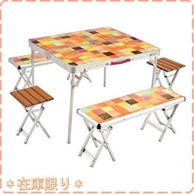 コールマン(Coleman) テーブル ナチュラルモザイクファミリーリビングセットプラス 約13.2kg 2000026757