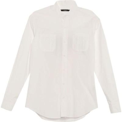 タケシ クロサワ TAKESHY KUROSAWA メンズ シャツ トップス Solid Color Shirt White
