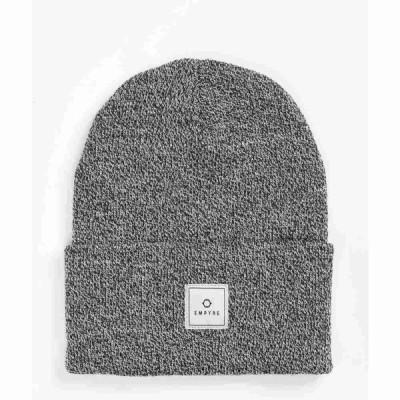 エンパイア EMPYRE レディース ニット ビーニー 帽子 drone grey beanie Grey