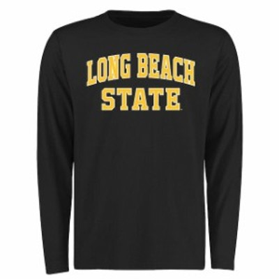 Fanatics Branded ファナティクス ブランド スポーツ用品  Long Beach State 49ers Black Everyday Long Sleeve T-Shir