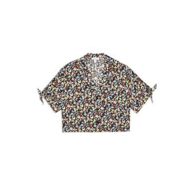 トップショップ TOPSHOP シャツ ブラック 12 レーヨン 100% シャツ
