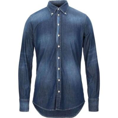 ディースクエアード DSQUARED2 メンズ シャツ デニム トップス denim shirt Blue