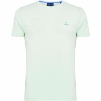 ガント Gant メンズ Tシャツ ロゴTシャツ トップス Contrast Logo T Shirt Mint