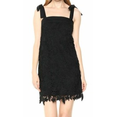 kensie ケンジー ファッション ドレス Kensie NEW Black Bold Garden Floral Lace Womens Size XS Shift Dress